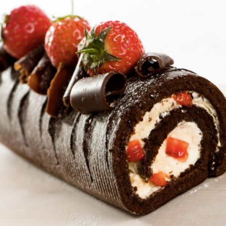Rotolo Cioccolato E Panna 325