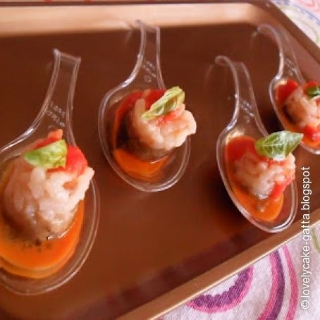 Finger Food di Risotto Parmigiana