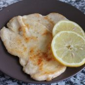 Scaloppine al limone facili