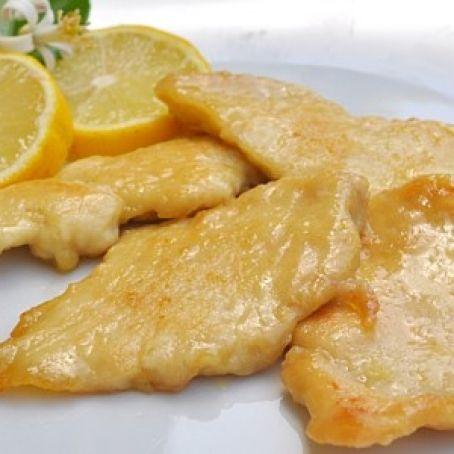 recipe: scaloppine di pollo al limone [7]