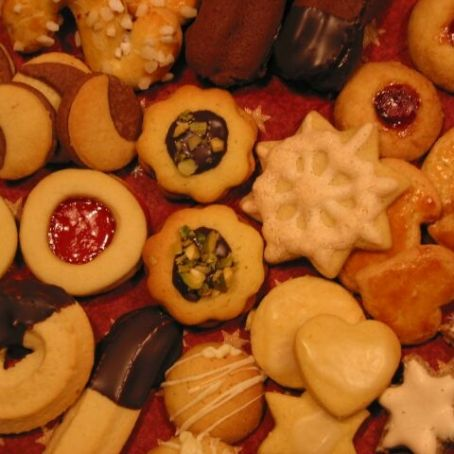 Biscotti Di Natale Tedeschi Ricetta.Biscotti Austriaci Natalizi 3 3 5