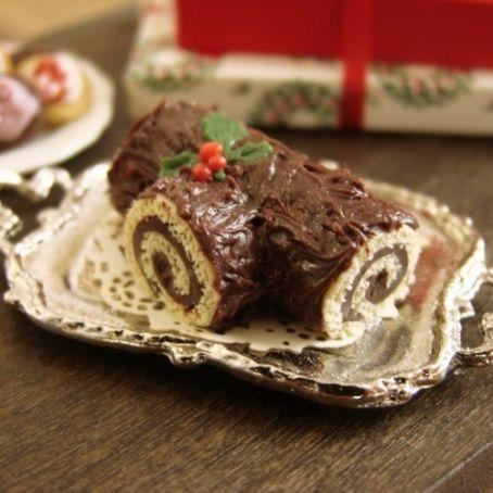 Ricetta Tronchetto Di Natale Al Cioccolato Bianco.Tronchetto Di Natale Al Cioccolato Bianco E Fondente 2 9 5