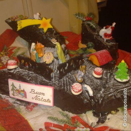 Ricetta Tronchetto Di Natale Alla Nutella.Tronchetto Di Natale Alla Nutella 3 6 5