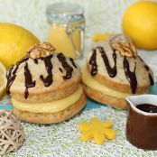 Whoopies al Lemon Curd