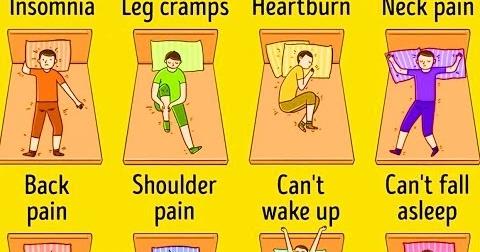 Combatti i problemi di sonno con la giusta posizione for Posizione corretta per dormire