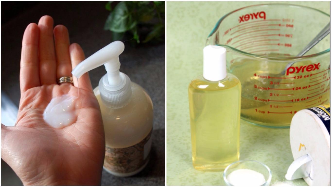 Come fare in casa un sapone liquido per le mani super delicato - Sapone liquido fatto in casa ...