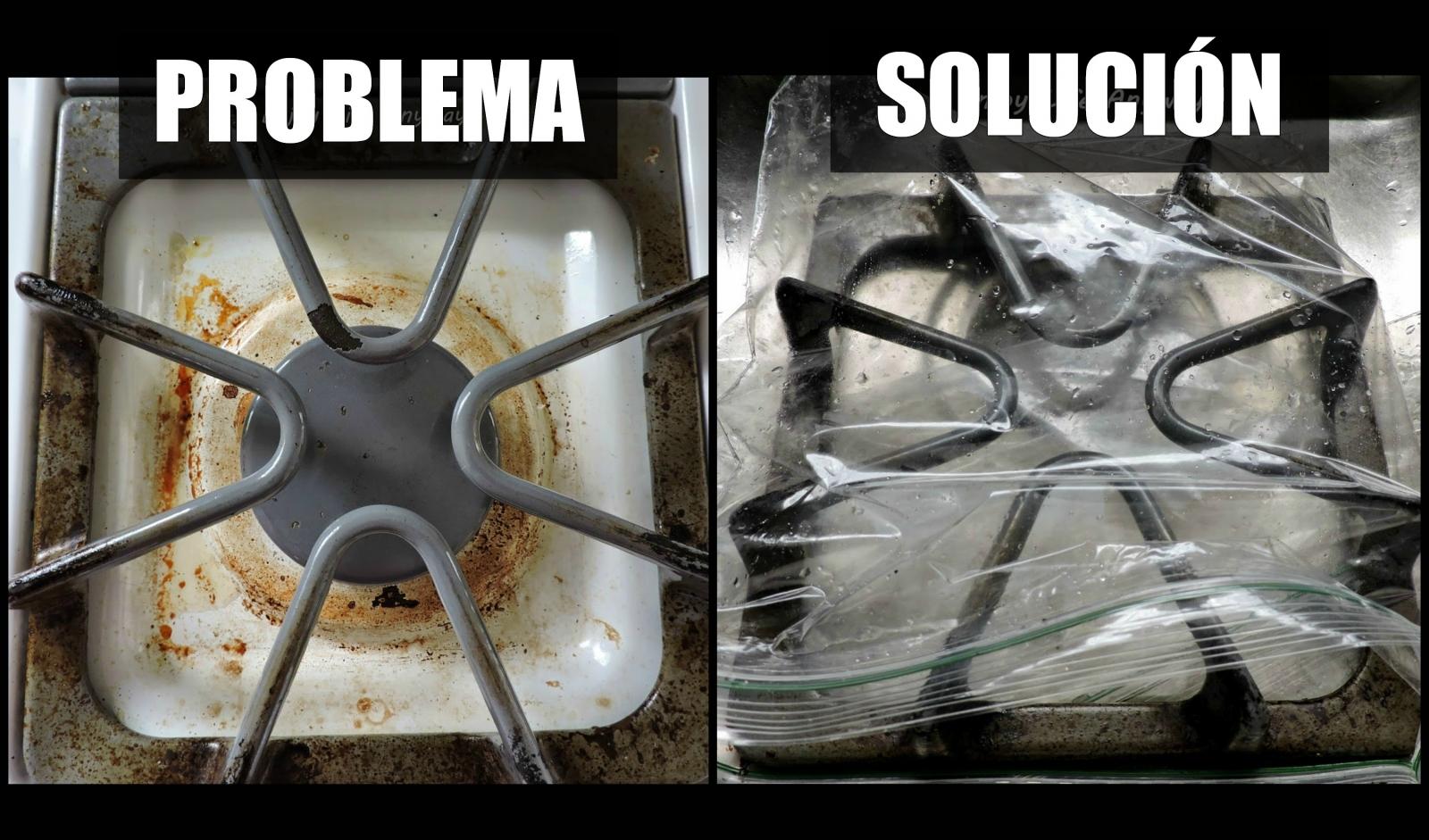 Un trucco facile e veloce per pulire i fornelli senza sforzi - Cucina senza fornelli ...