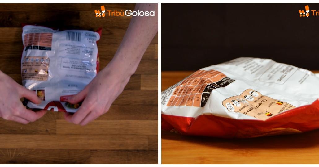 Come chiudere un sacchetto di patatine senza l'uso delle ...