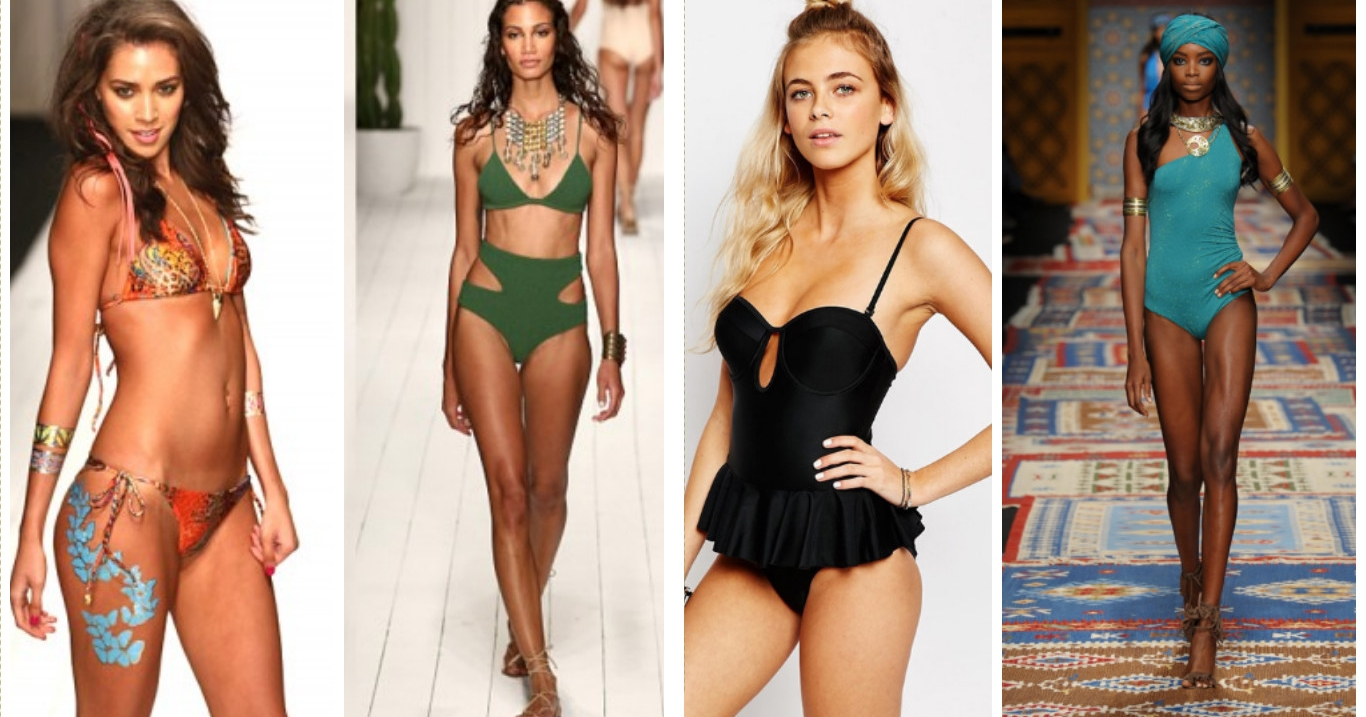 Costumi da bagno top per l 39 estate 2016 - Accessori per costumi da bagno ...