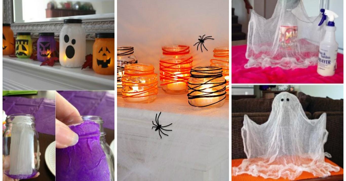15 decorazioni per halloween da fare in 5 minuti for Decorazioni halloween