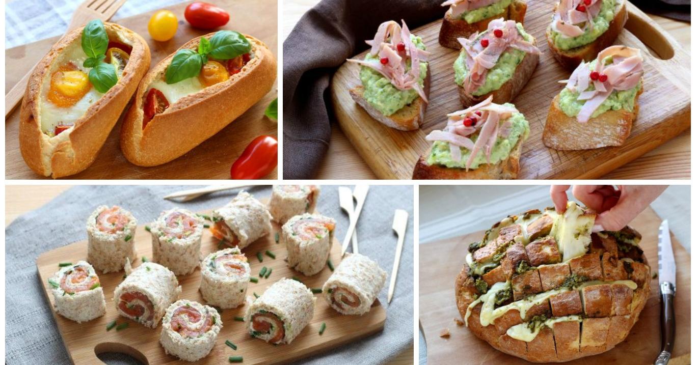 Aperitivo 7 ricette originali da fare con il pane for Ricette originali
