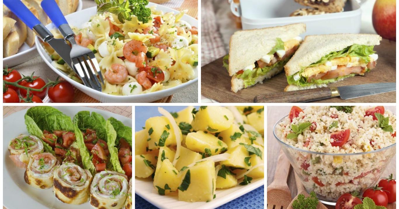Pranzo Freddo Ufficio : Lunch box: 10 ricette per il pranzo in ufficio pronte in 10 minuti