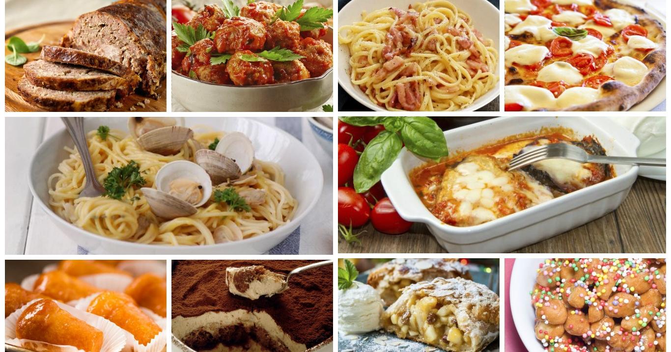 La dolce vita i 30 piatti italiani pi conosciuti all 39 estero for Piatti tipici roma