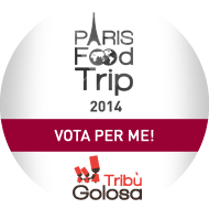 Vota per me, per il Paris Food Trip 2014!