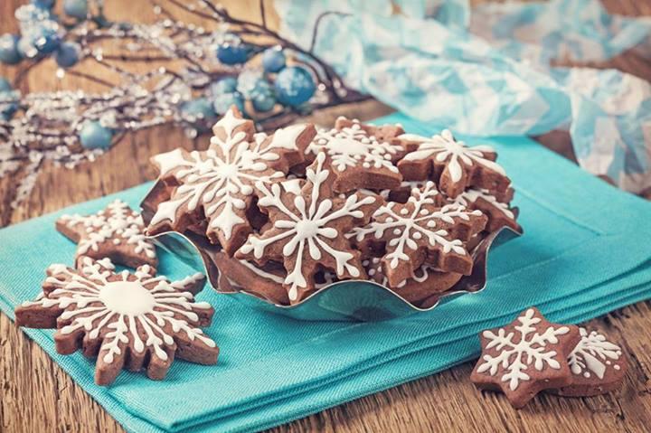 Ricette Dolci Di Natale Al Cioccolato.Biscotti Al Cioccolato Di Natale 2 8 5