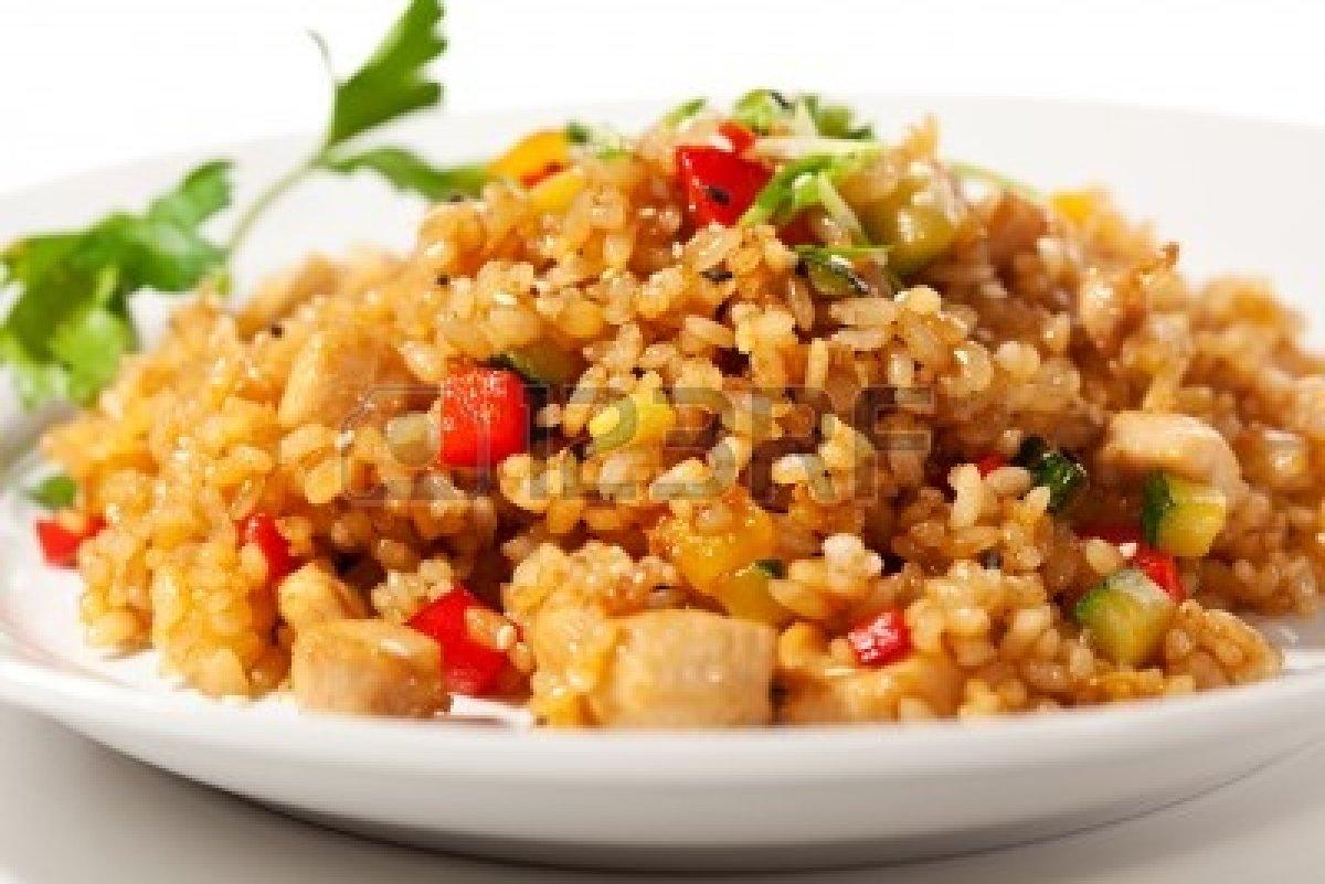 Riso con carne alla cinese 2 8 5 for Menu cinese ricette