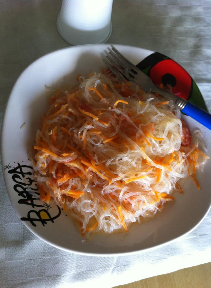 Ricette degli spaghetti di soia for Menu cinese ricette