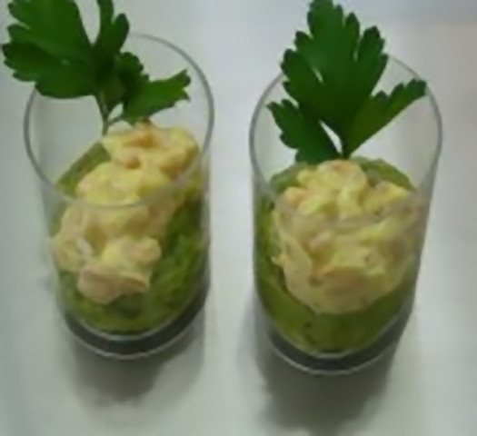 Ricetta Guacamole E Gamberi.Bicchierini Guacamole E Gamberetti Al Curry 3 2 5