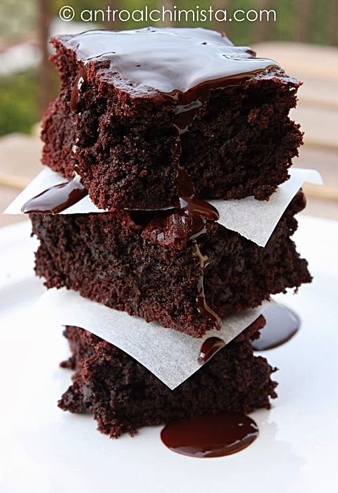 Ricetta Brownies Con Cacao In Polvere.Brownies Al Cacao 3 2 5