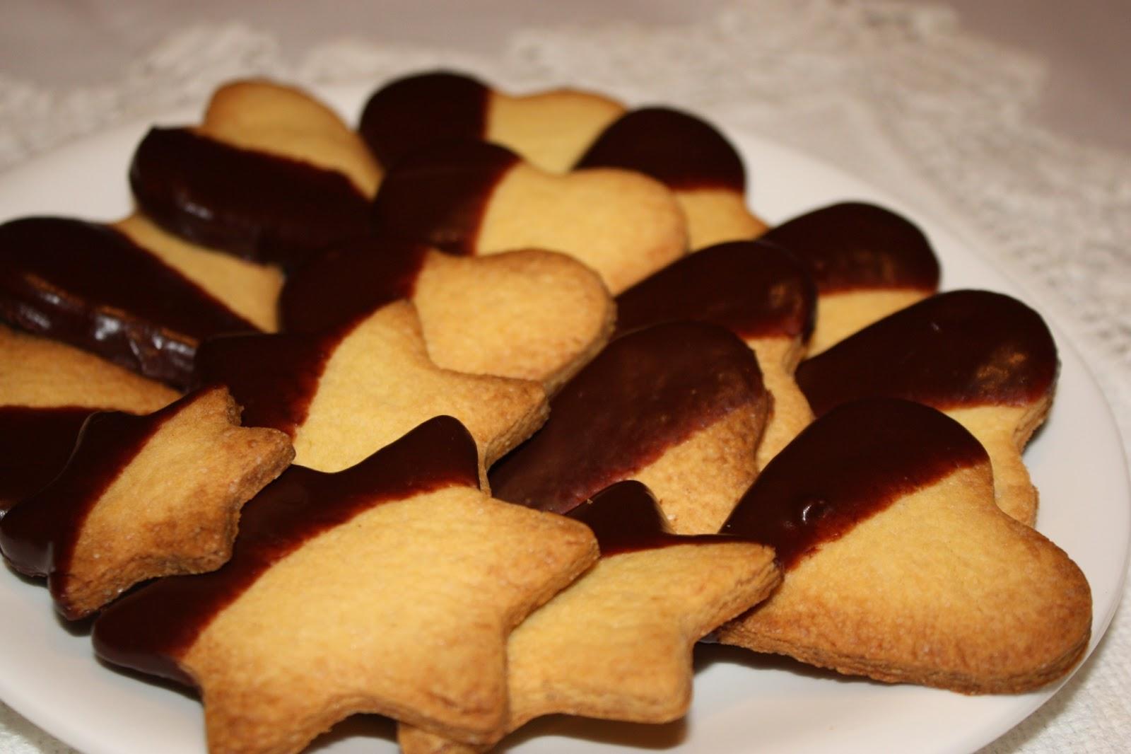 Ricetta Biscotti Al Burro Facile.Biscottini Al Burro 2 5 5