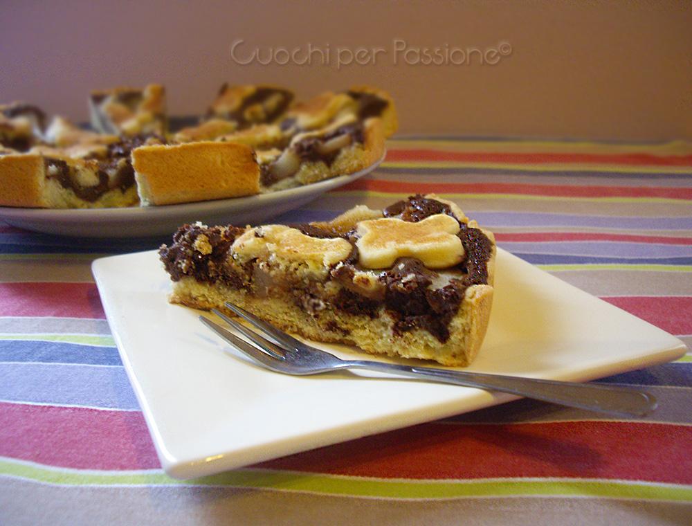 Ricetta Crostata Kenwood Chef.Crostata Pere E Cioccolato Ottima 4 5