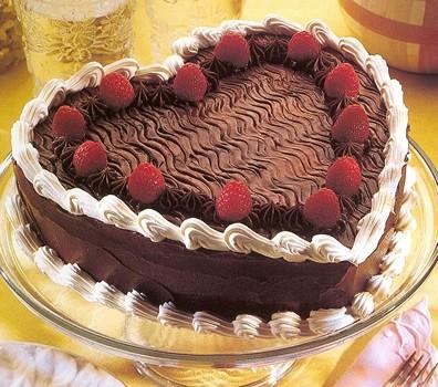 Ricetta Torta Al Cioccolato A Forma Di Cuore.Torta A Cuore 2 9 5