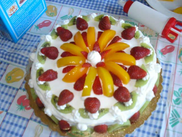 Torta estiva 4 7 5 for Ricette dolci estivi