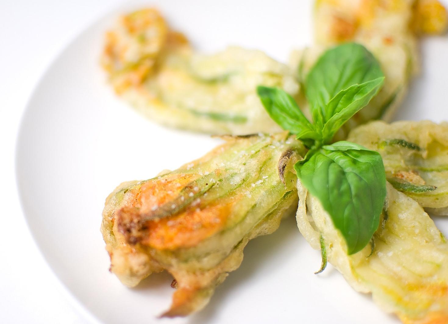Fiori Fritti.Fiori Di Zucca Fritti In Pastella 2 7 5