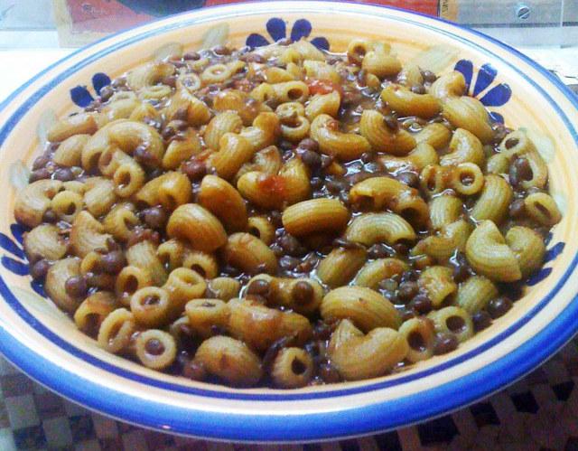 Ricette pasta e lenticchie in scatola