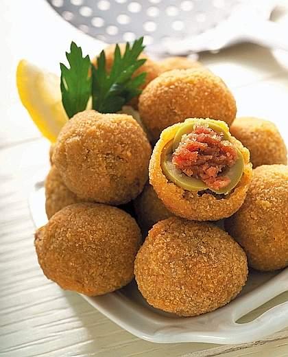 Ricette originali delle olive ascolane for Ricette originali