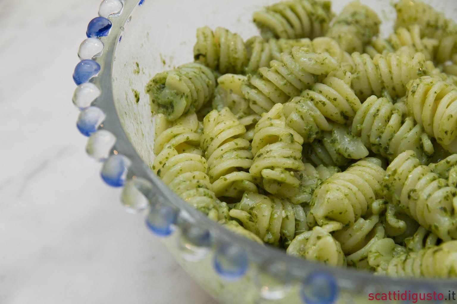 Ricetta Pesto Light.Pasta Al Pesto Light 4 5