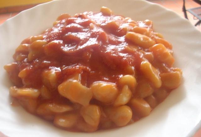 Ricetta Gnocchi Di Patate Con Sugo.Gnocchi Di Patate Al Sugo E Ricotta 5 5