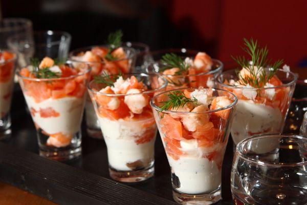 Bicchierini di salmone 3 2 5 - Cose semplici da cucinare ...