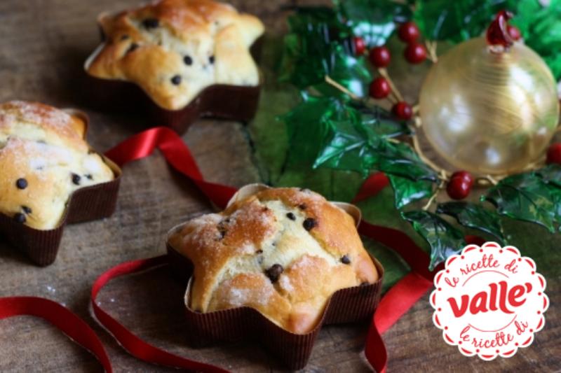 Ricetta Stella Di Natale.Stelle Di Natale Con Gocce Di Cioccolato 3 1 5