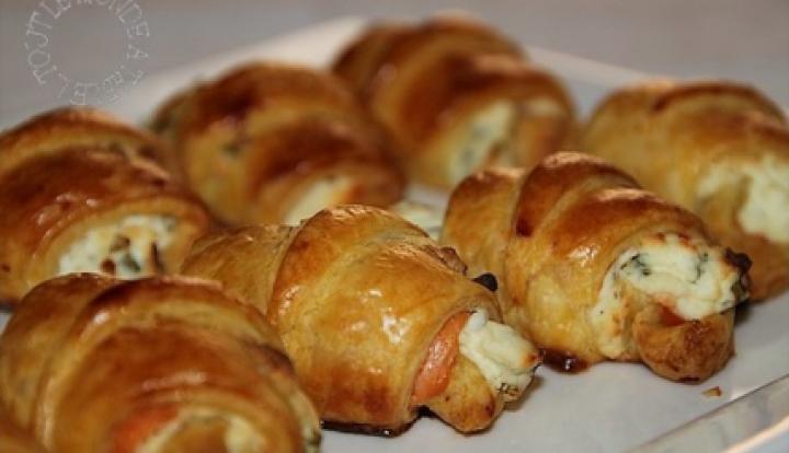 Mini Croissant Cake Et Tartelette