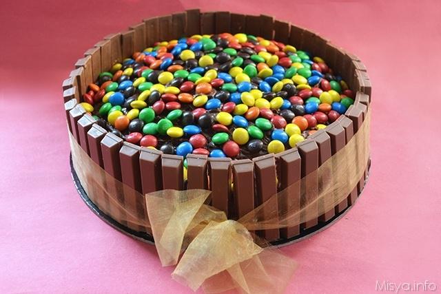 Torta Kit Kat 375