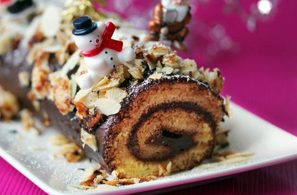 Tronchetto Di Natale Sale E Pepe.Tronchetto Di Natale Al Cioccolato