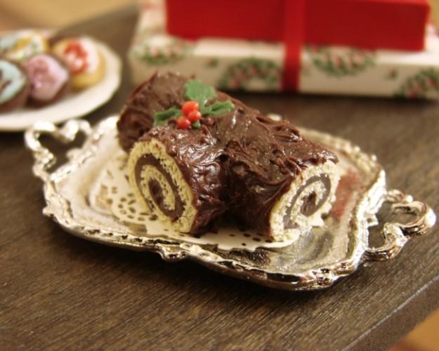 Tronchetto Di Natale Video Ricetta.Tronchetto Di Natale Al Cioccolato Bianco E Fondente 2 9 5