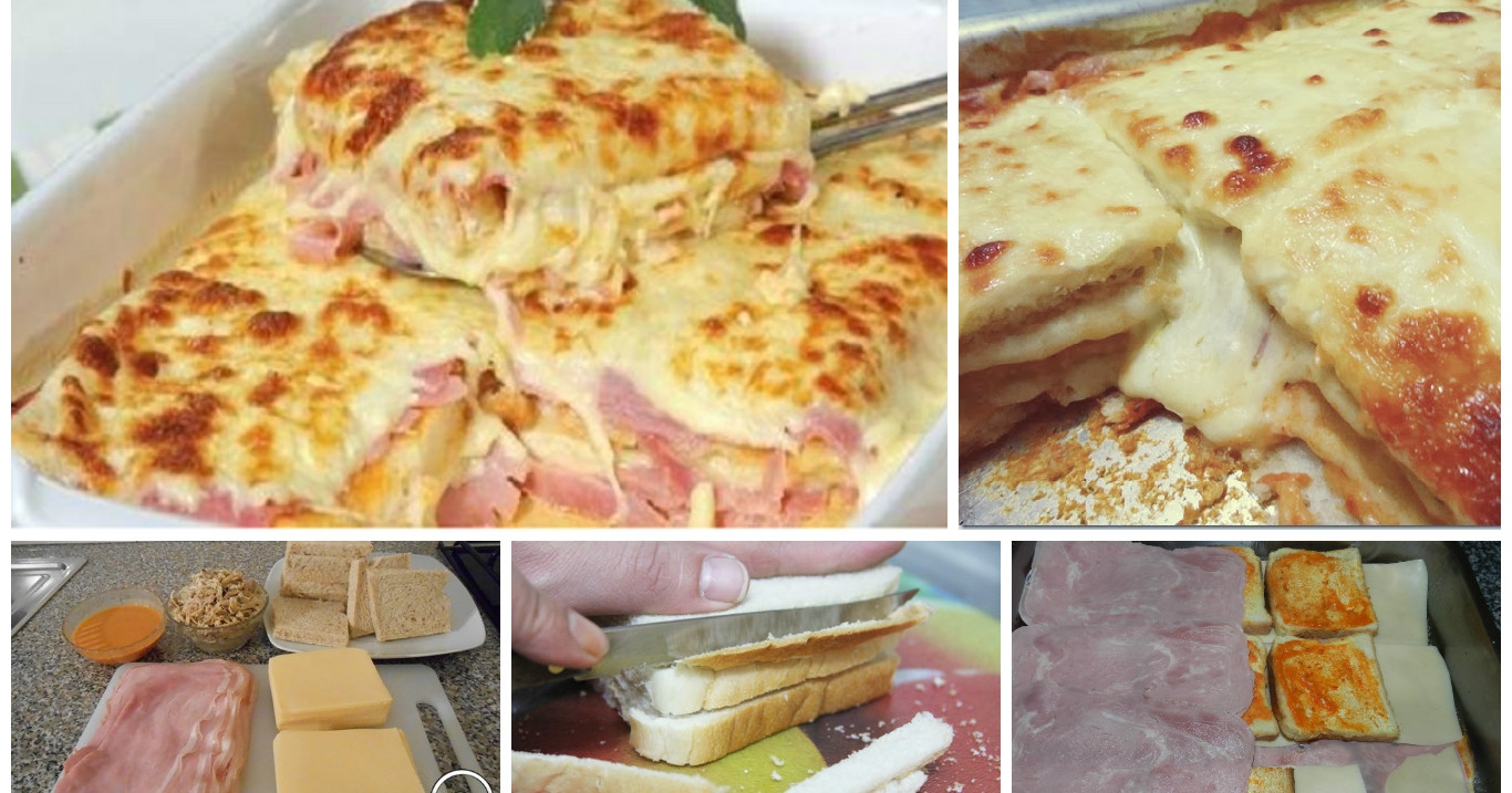Lasagne Di Pane Al Prosciutto Cotto 435