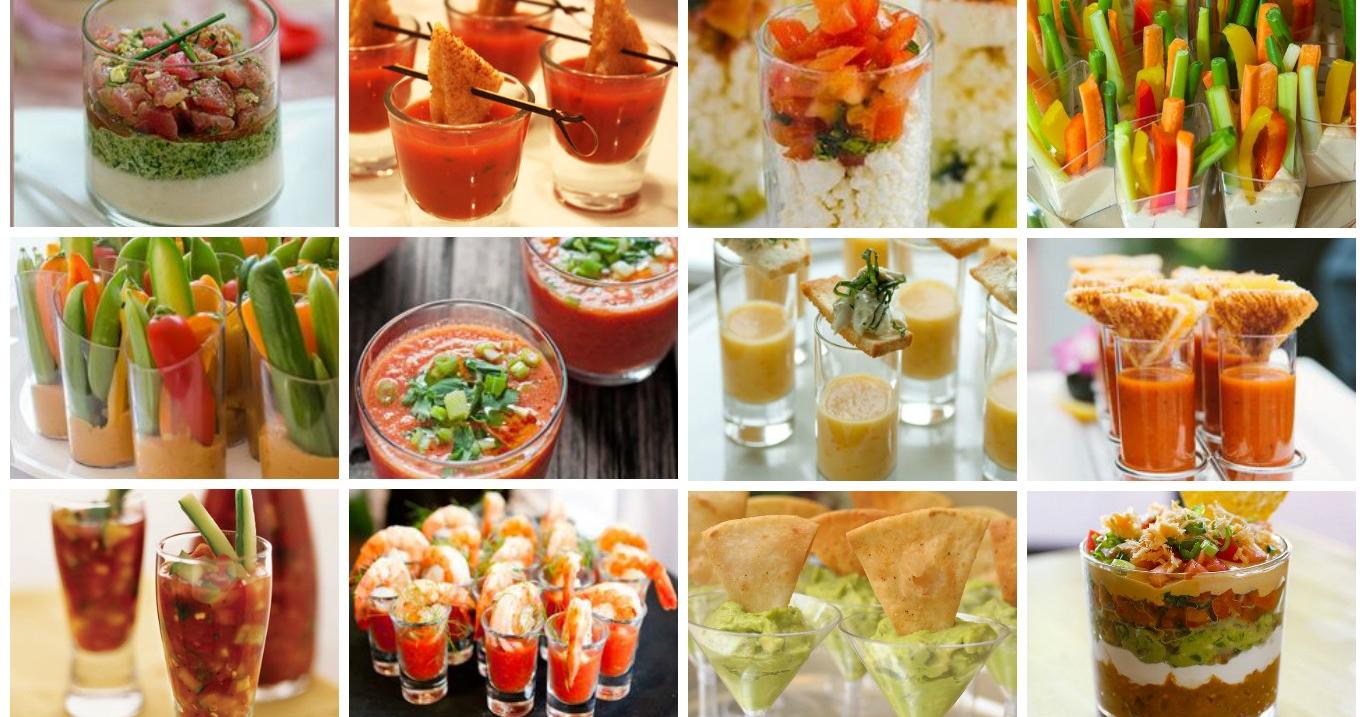 Finger Food Aperitivo Estivo ricette sfiziose di bicchierini salati