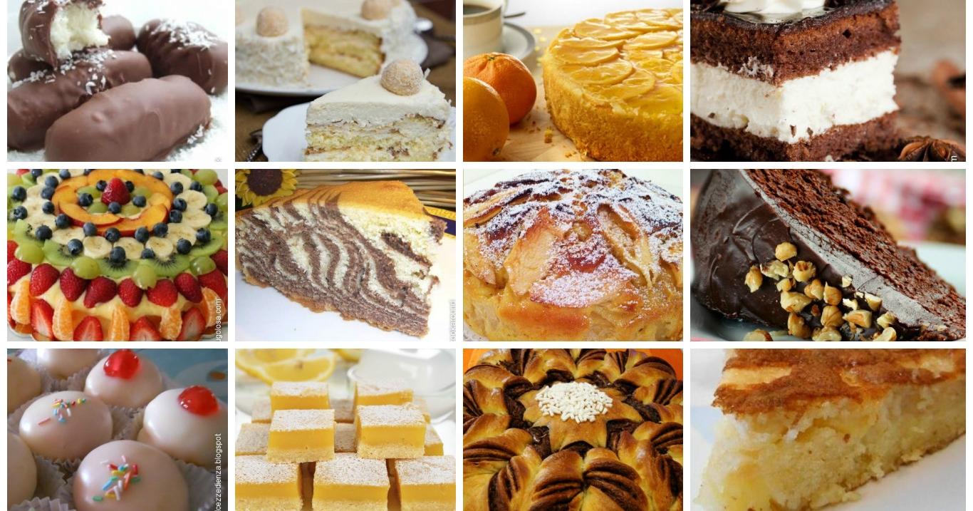 Ricette originali di dolci for Ricette originali