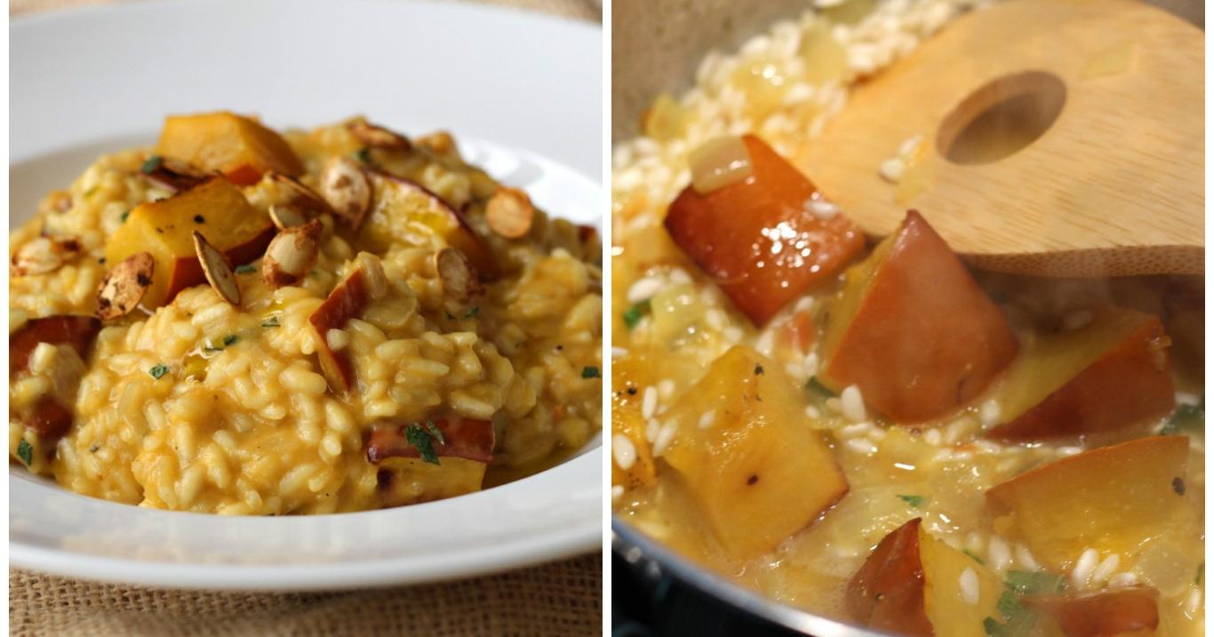 Ricette di risotto alla zucca for Risotto ricette