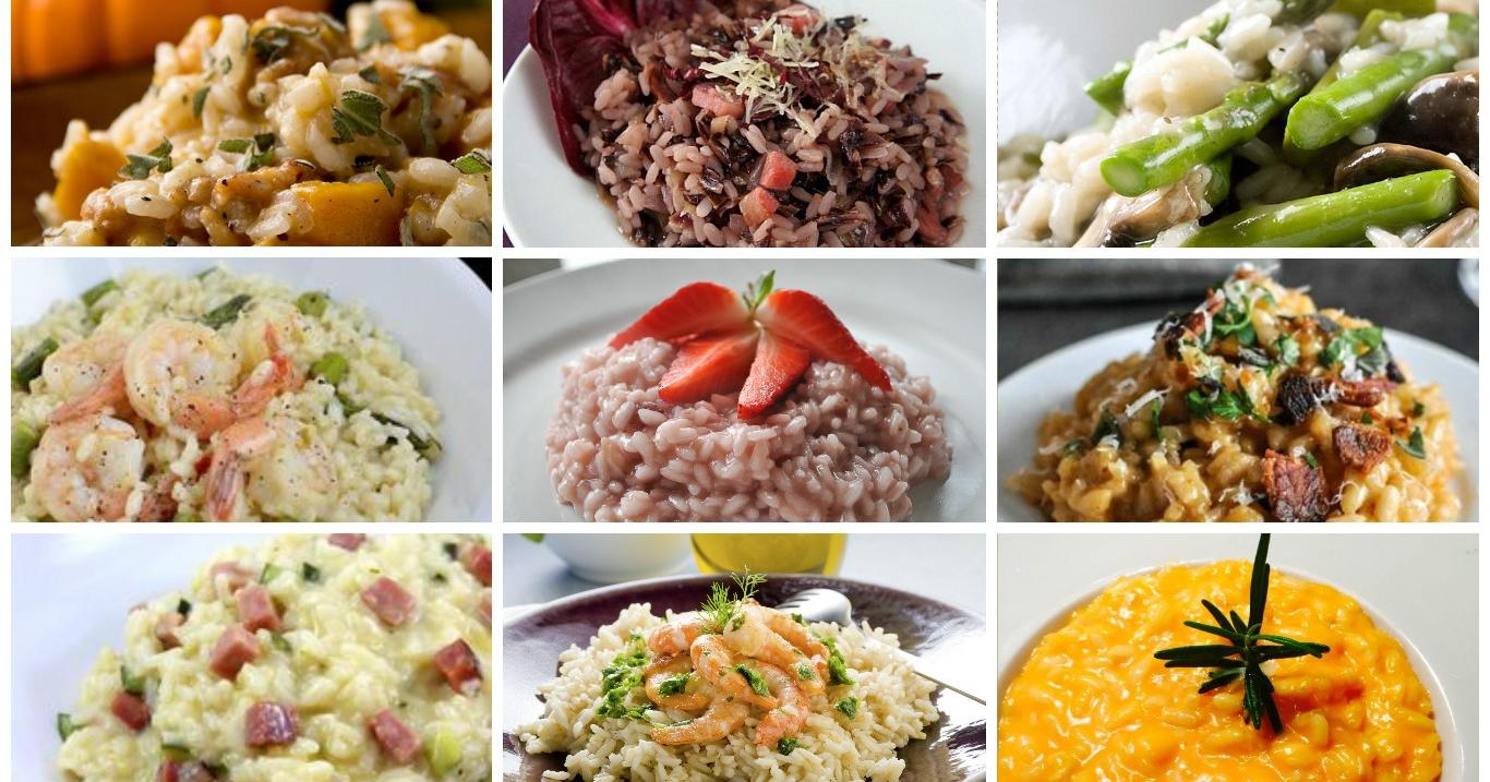 Ricette di risotto for Risotto ricette